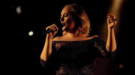 Foto de Adele en concierto