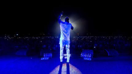 Foto de Akon en concierto
