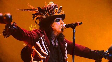 Foto de Alice Cooper en concierto