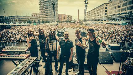 Foto de Amorphis en concierto