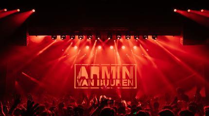 Foto de Armin van Buuren.