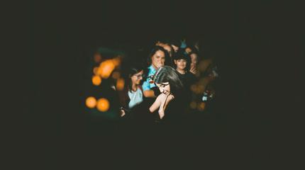 Foto de Bely Basarte en concierto