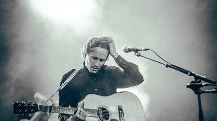 Foto de Ben Howard en concierto