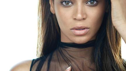 Foto retratro de Beyoncé