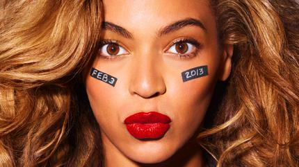 Foto de cara de Beyoncé
