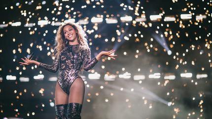Foto de Beyoncé en concierto