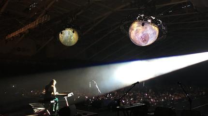 Foto de Birdy en concierto