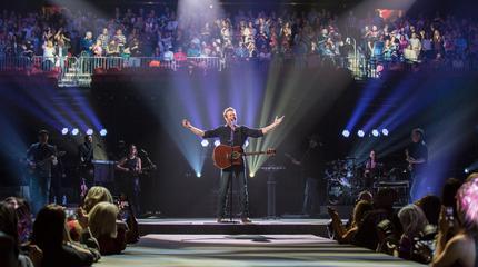 Foto de Blake Shelton en el escenario