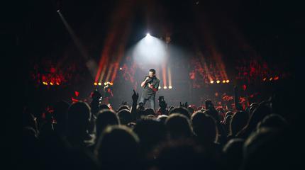 Foto de Blake Shelton en concierto