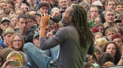 Foto de Bobby McFerrin en concierto