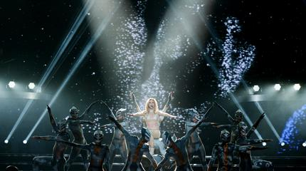 Foto de Britney Spears en concierto