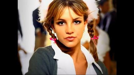 Foto de Britney Spears muy joven