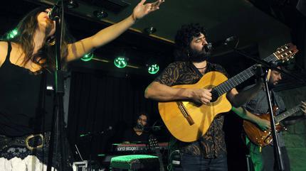 Foto de Canteca de Macao en concierto