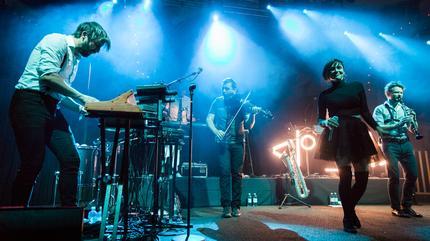 Foto de Caravan Palace en concierto