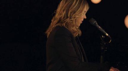 Foto de Diana Krall tocando el piano