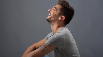 Foto de Diego Martín de perfil