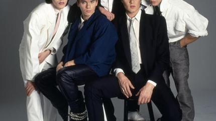 Foto del grupo británico Duran Duran