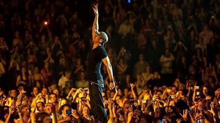 Foto de Enrique Iglesias en concierto