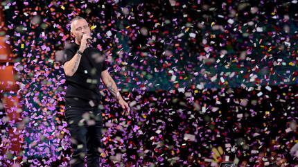 Foto de Eros Ramazzotti en concierto