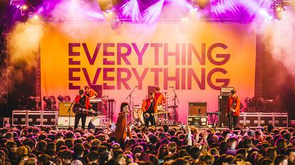 Foto de Everything Everything en concierto