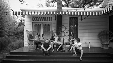 Foto de Foo Fighters de relax