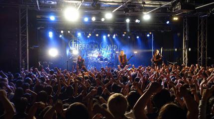 Foto de Freedom Call en concierto