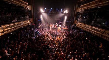Foto de Freedonia en concierto en Joy Eslava
