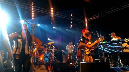 Foto de Groundation en concierto