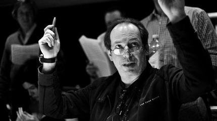 Foto del músico Hans Zimmer.