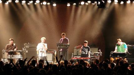 Foto de Hot Chip en concierto