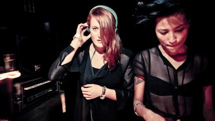 Foto del dúo Icona Pop.