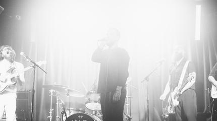 Foto de Idles en concierto