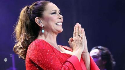 Foto de Isabel Pantoja en concierto