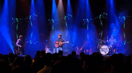 Foto del artista Jake Bugg en concierto.