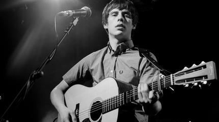 Foto del cantante y guitarrista Jake Bugg.