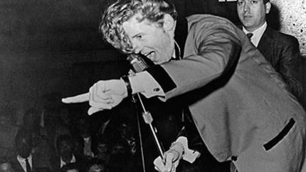 Foto de Jerry Lee Lewis en concierto