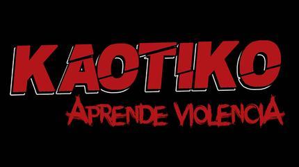 "Logo de KAOTIKO ""Aprende Violencia"""