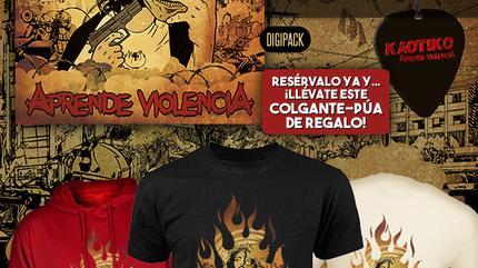 """PRE-VENTA del CD de KAOTIKO """"aprende Violencia"""""""