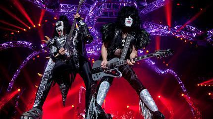 Foto de Kiss en concierto