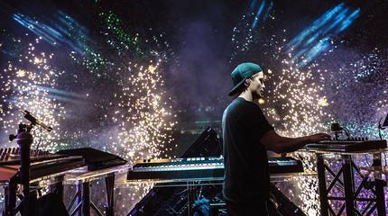 Foto de Kygo en concierto