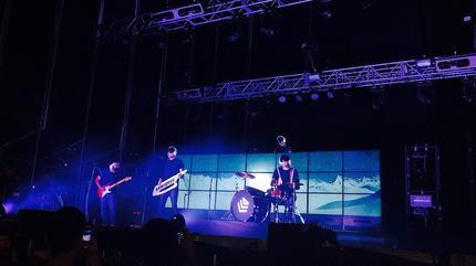 Fotografía de La Casa Azul en concierto