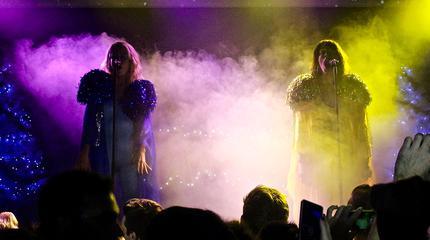 Foto de Las Bistecs en concierto.
