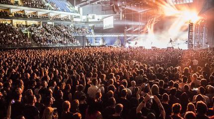 Foto de Linkin Park en concierto, en vivo y en directo