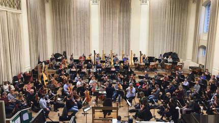 foto de la orquesta filarmonica de londres