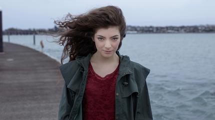 Foto de la artista Lorde.