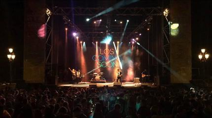 Foto de Los Coming Soon en concierto