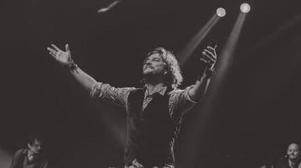 Foto de Manuel Carrasco en concierto