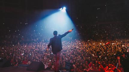 Foto de Marc Anthony de concierto
