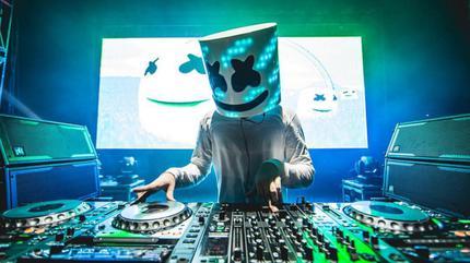 Foto del DJ Marshmello.