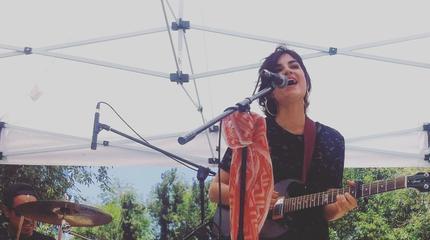 Foto de Marta Tchai en concierto